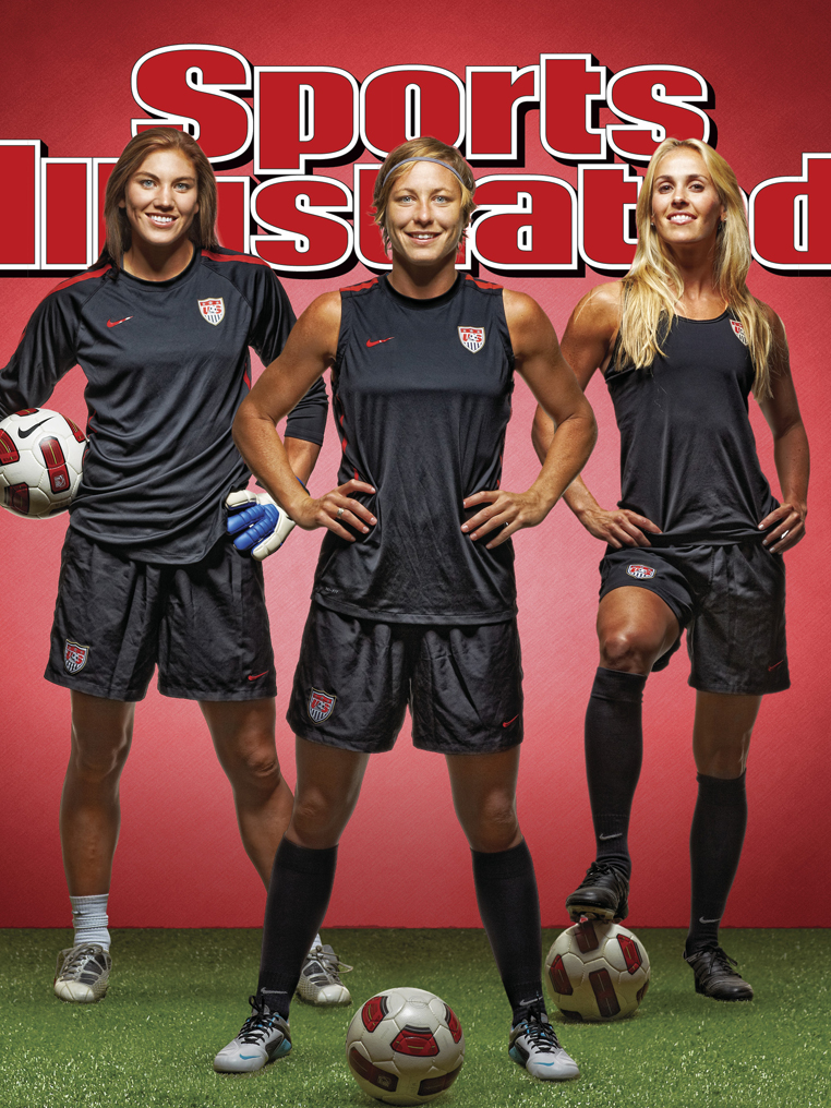 Abby Wambach Hope Solo Heather Mitts SI Sports Illustrated Cover    Hope Solo Sports Illustrated Cover