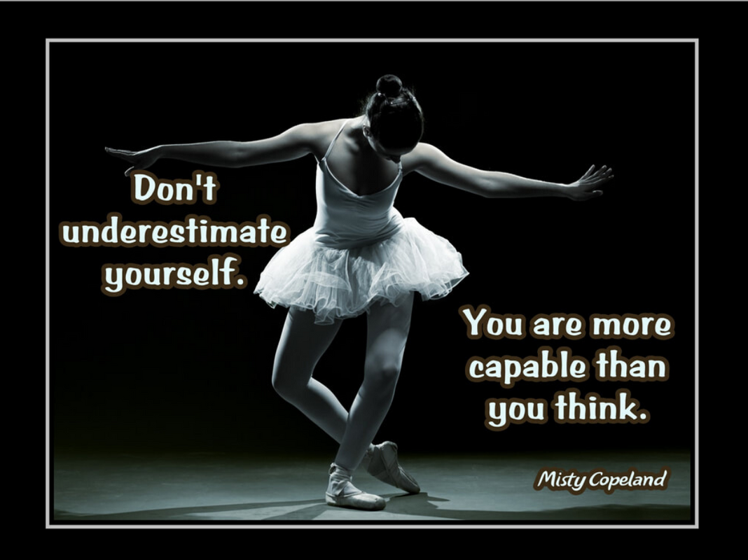 Misty Copeland motivational poster