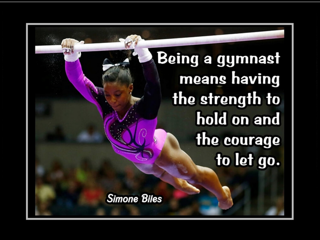 Simone Biles motivational poster