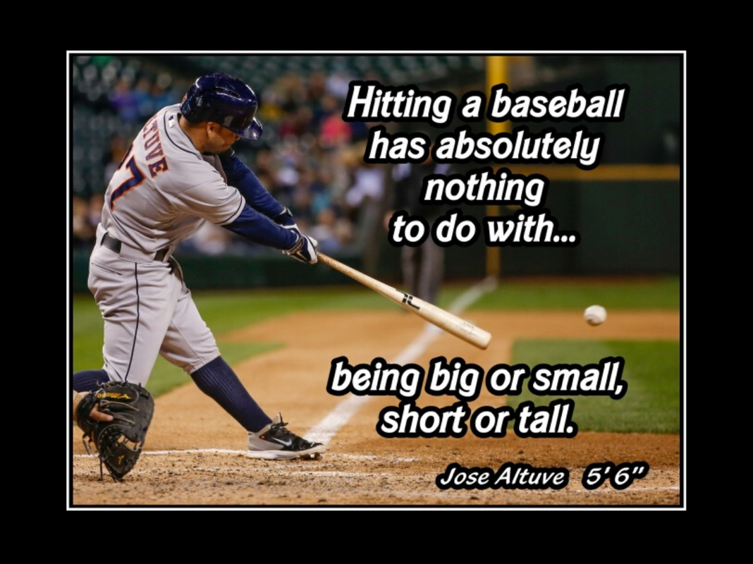 Jose Altuve motivational poster