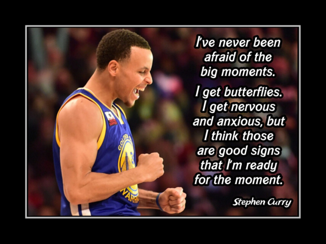 Stephen Curry motivational poster