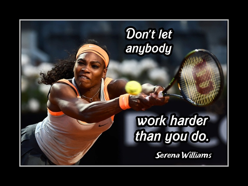 arleyart  tennis motivation poster  tennis coaching quote