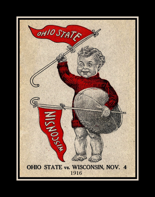 Arleyart Com Vintage Ohio State Wisconsin Football